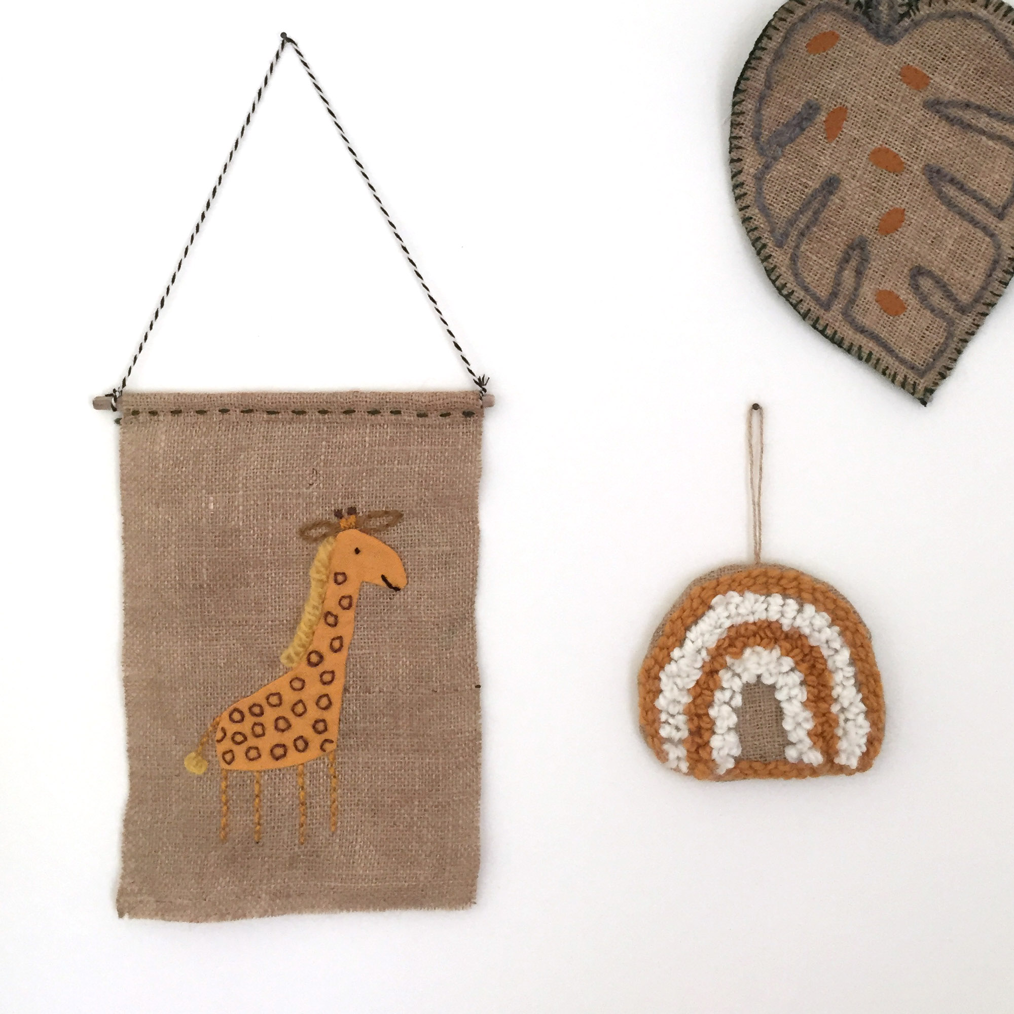 Wandhanger giraf